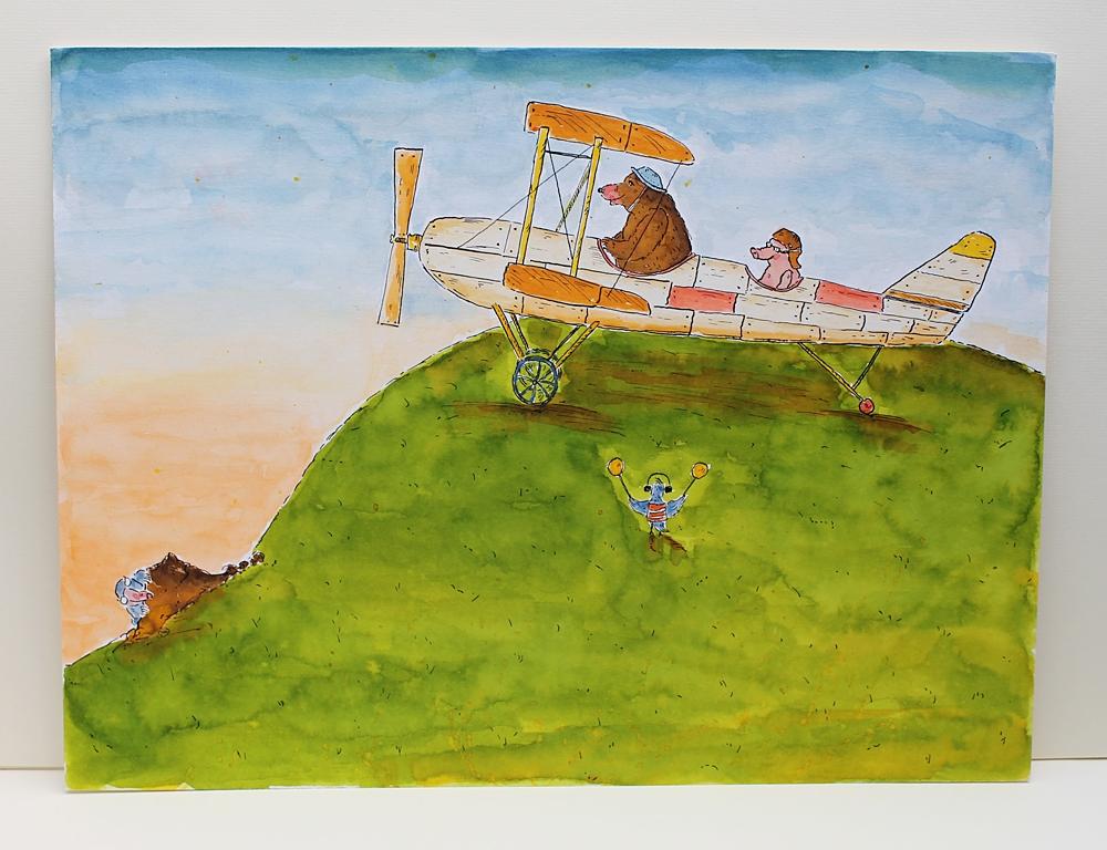 """Kinderbuch """"Eine kleine Reise"""""""