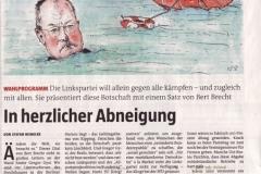 """Steinbrück / Gysi """"In herzlicher Abneigung"""""""